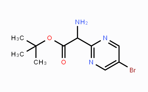 1235451-38-3 | 2-(Boc-aminomethyl)-5-bromopyrimidine