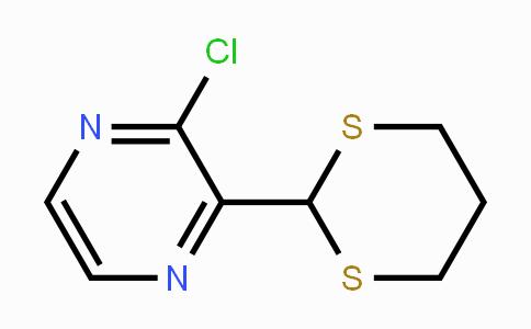 874114-28-0 | 2-Chloro-3-[1,3]dithian-2-yl-pyrazine