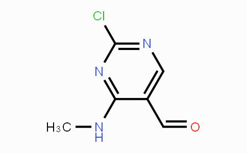 839708-50-8 | 2-Chloro-4-(methylamino)-5-pyrimidinecarboxaldehyde