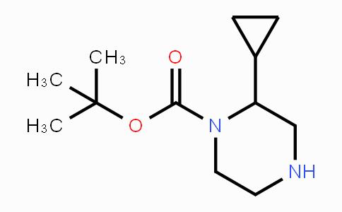 886779-93-7 | 2-Cyclopropyl-piperazine-1-carboxylic acid tert-butyl ester