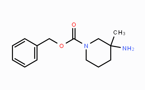 174543-80-7 | 3-Amino-3-methyl-piperidine-1-carboxylic acid benzyl ester