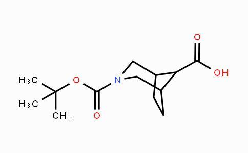 1250997-29-5 | 3-Boc-3-azabicyclo[3.2.1]octane-8-carboxylic acid