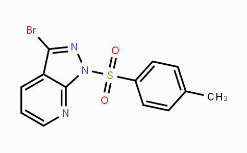 889451-24-5 | 3-Bromo-1-tosyl-1H-pyrazolo[3,4-b]pyridine
