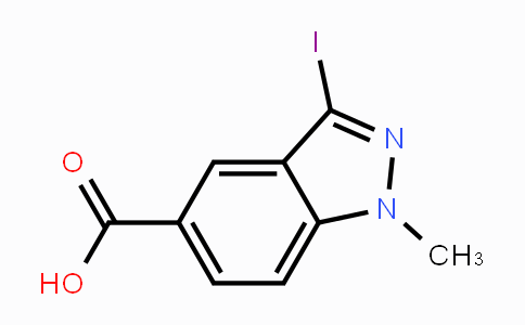 1234616-33-1 | 3-Iodo-1-methylindazole-5-carboxylic acid