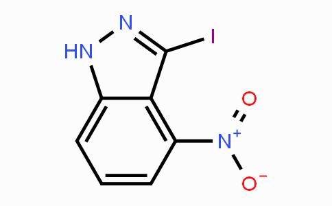 885521-22-2 | 3-Iodo-4-nitro-1H-indazole