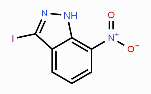 864724-64-1 | 3-Iodo-7-nitro-1H-indazole
