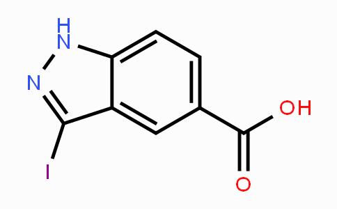 885521-46-0 | 3-Iodoindazole-5-carboxylic acid