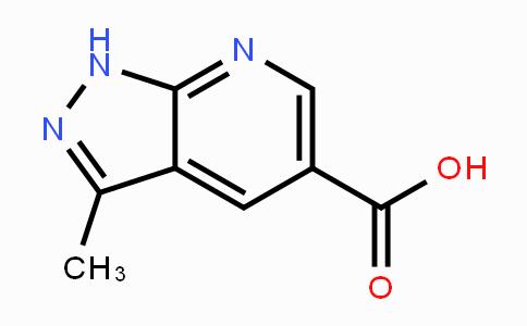1118787-14-6 | 3-Methyl-1H-pyrazolo[3,4-b]pyridine-5-carboxylic acid