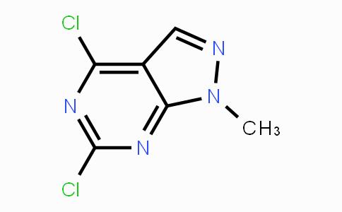 98141-42-5 | 4,6-Dichloro-1-methyl-1H-pyrazolo[3,4-d]pyrimidine