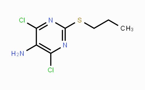 145783-15-9   4,6-Dichloro-2-propylthiopyrimidine-5-amine