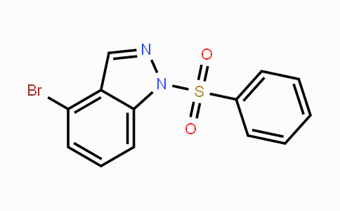 1001415-32-2 | 4-Bromo-1-(phenylsulfonyl)-1H-indazole