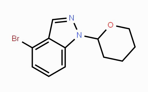 1022158-35-5 | 4-Bromo-1-(tetrahydro-2H-pyran-2-yl)-1H-indazole