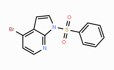 889939-25-7 | 4-Bromo-1-benzenesulfonyl-7-azaindole