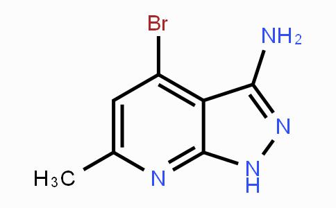 1369140-37-3 | 4-Bromo-6-methyl-1H-pyrazolo[5,4-b]pyridin-3-amine