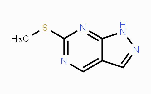 55084-74-7 | 6-(Methylthio)-1H-pyrazolo[3,4-d]pyrimidine
