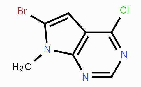 784150-42-1 | 6-Bromo-4-chloro-7-methyl-7H-pyrrolo[2,3-d]pyrimidine