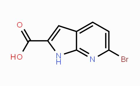 1379360-58-3 | 6-Bromo-7-azaindole-2-carboxylic acid
