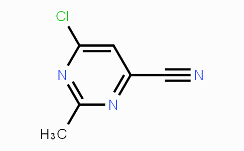1192064-60-0 | 6-Chloro-2-methyl-4-pyrimidinecarbonitrile