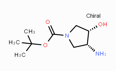 138026-97-8 | cis-(3S,4R)-tert-Butyl 3-Amino-4-hydroxypyrrolidine-1-carboxylate