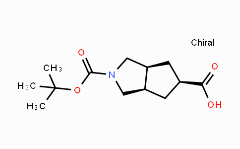 442877-23-8 | cis-2-Boc-hexahydro-cyclopenta[c]pyrrole-5-carboxylic acid