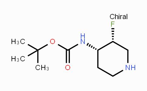 1268521-83-0 | cis-4-(Boc-amino)-3-fluoropiperidine