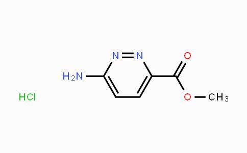 98140-96-6 | Methyl 3-aminopyridazine-6-carboxylate hydrochloride