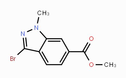 192945-57-6 | Methyl 3-bromo-1-methylindazole-6-carboxylate