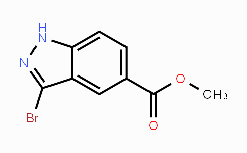 1086391-06-1 | Methyl 3-bromoindazole-5-carboxylate