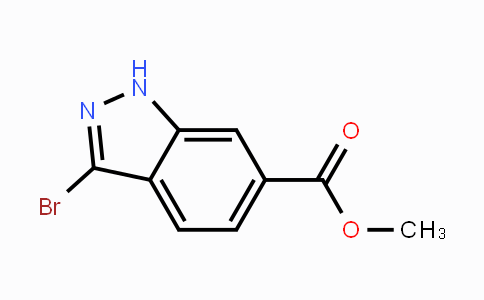 192945-56-5 | Methyl 3-bromoindazole-6-carboxylate