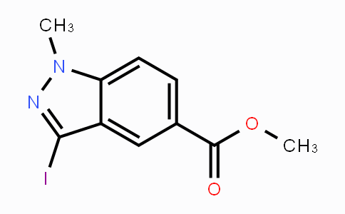 1092351-68-2 | Methyl 3-iodo-1-methylindazole-5-carboxylate
