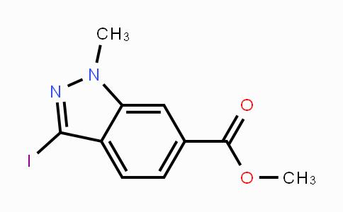 1041205-25-7 | Methyl 3-iodo-1-methylindazole-6-carboxylate