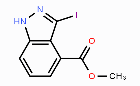 885521-54-0 | Methyl 3-iodo-1H-indazole-4-carboxylate