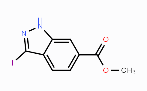 885518-82-1 | Methyl 3-iodoindazole-6-carboxylate