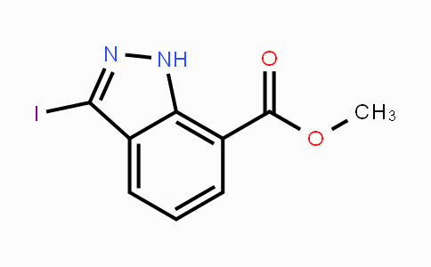 MC444538 | 944899-05-2 | Methyl 3-iodoindazole-7-carboxylate