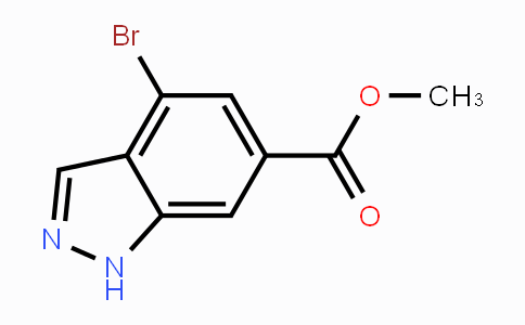 885518-47-8 | Methyl 4-bromo-6-(1H)-indazole carboxylate
