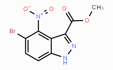 1403767-11-2 | Methyl 5-bromo-4-nitro-1H-indazole-3-carboxylate