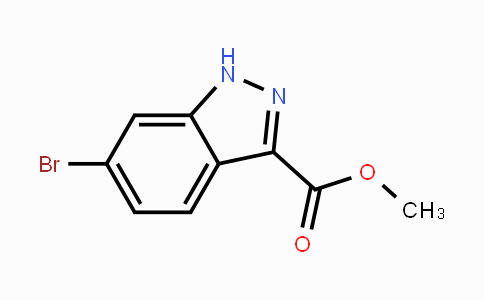 885278-42-2 | Methyl 6-bromo-1H-indazole-3-carboxylate