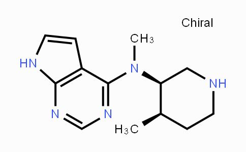 477600-74-1 | N-Methyl-N-((3R,4R)-4-methylpiperidin-3-yl)-7H-pyrrolo[2,3-d]pyrimidin-4-amine