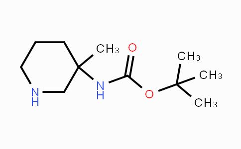 169750-96-3 | tert-Butyl 3-methylpiperidin-3-yl-carbamate
