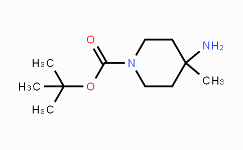 343788-69-2 | tert-Butyl 4-amino-4-methylpiperidine-1-carboxylate
