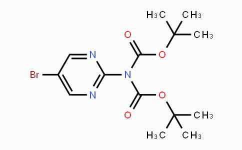 209959-33-1 | tert-Butyl N-(5-bromopyrimidin-2-yl)-N-[(tert-butoxy)carbonyl]carbamate