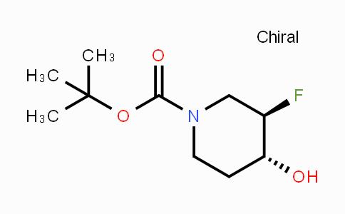 955029-44-4 | trans-1-Boc-3-fluoro-4-hydroxypiperidine