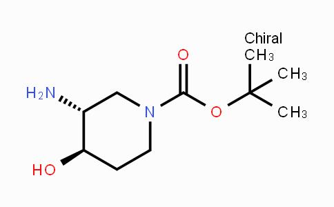 MC444596 | 1268511-99-4 | 反式-3-氨基-4-羟基哌啶-1-甲酸叔丁酯