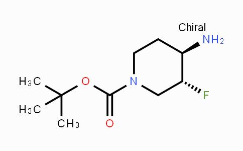 907544-16-5 | trans-4-Amino-1-Boc-3-fluoropiperidine