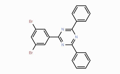 1073062-59-5 | 2-(3,5-Dibromophenyl)-4,6-diphenyl-1,3,5-triazine