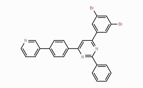 1776083-02-3 | 4-(3,5-dibromophenyl)-2-phenyl-6-(4-(pyridin-3-yl)phenyl)pyrimidine