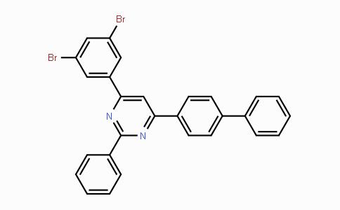 1393350-29-2 | 4-([1,1'-biphenyl]-4-yl)-6-(3,5-dibromophenyl)-2-phenylpyrimidine