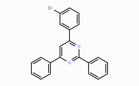 864377-28-6 | 4-(3-Bromophenyl)-2,6-diphenylpyrimidine