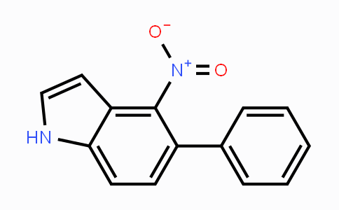 160096-30-0 | 4-Nitro-5-phenyl-1H-indole