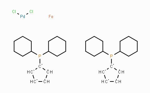917511-90-1 | Dichloro[1,1'-bis(dicyclohexylphosphino)ferrocene]palladium(II)